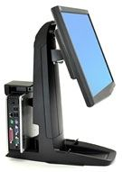 Ergotron 33-338-085 - Ergotron Neo-Flex All-In-One Lift Stand, Secure Clamp - Base para pantalla LCD / CPU - negro - tamaño de pantalla: hasta 24 pulgadas
