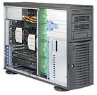Supermicro SYS-7048A-T - Supermicro SuperWorkstation 7048A-T - Torre - 4U - RAM 0 MB - sin disco duro - GigE - sin SO - monitor: ninguno