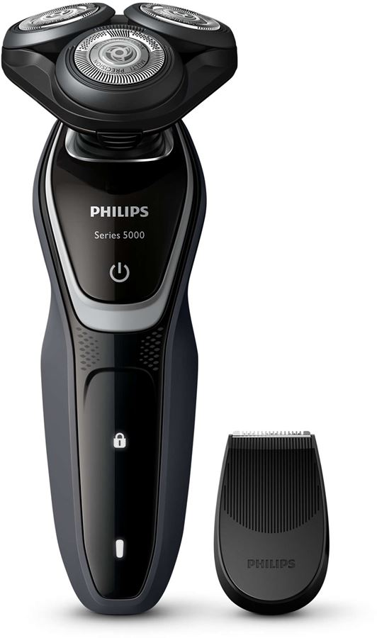 Philips S5110/06 - Philips SHAVER Series 5000 S5110 - Máquina de afeitar - sin cables - carbón