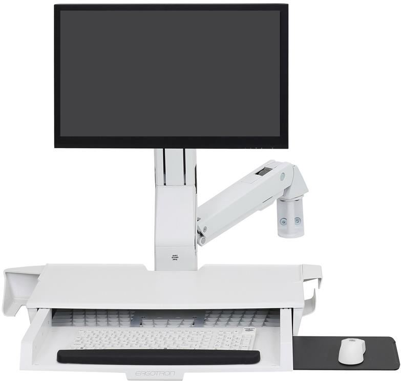 Ergotron 45-260-216 StyleView Sit-Stand Comb…