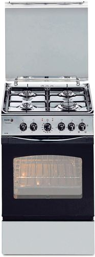 Cocina a gas butano de 54 x 54 cm fagor 3cf 540s i but 4 zonas horno el ctrico - Cocina de gas butano y horno electrico ...