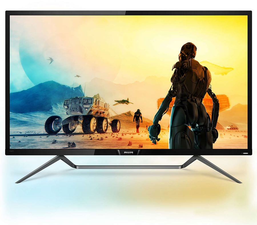 "Philips 436M6VBPAB/00 - Philips Momentum 436M6VBPAB - Monitor LED - 43"" (42.51"" visible) - 3840 x 2160 4K - MVA - 1000 cd/m² - 4000:1 - 4 ms - HDMI, DisplayPort, Mini DisplayPort, USB-C"