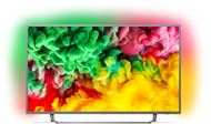 "Philips 65PUS6753/12 - Philips 65PUS6753 - 65"" Clase 6700 Series TV LED - Smart TV - 4K UHD (2160p) 3840 x 2160 - HDR - Micro Dimming Pro - gris oscuro"