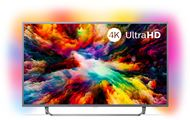 "Philips 65PUS7303/12 - Philips 65PUS7303 - 65"" Clase 7300 Series TV LED - Smart TV - Android TV - 4K UHD (2160p) 3840 x 2160 - HDR - Micro Dimming Pro - gris oscuro"