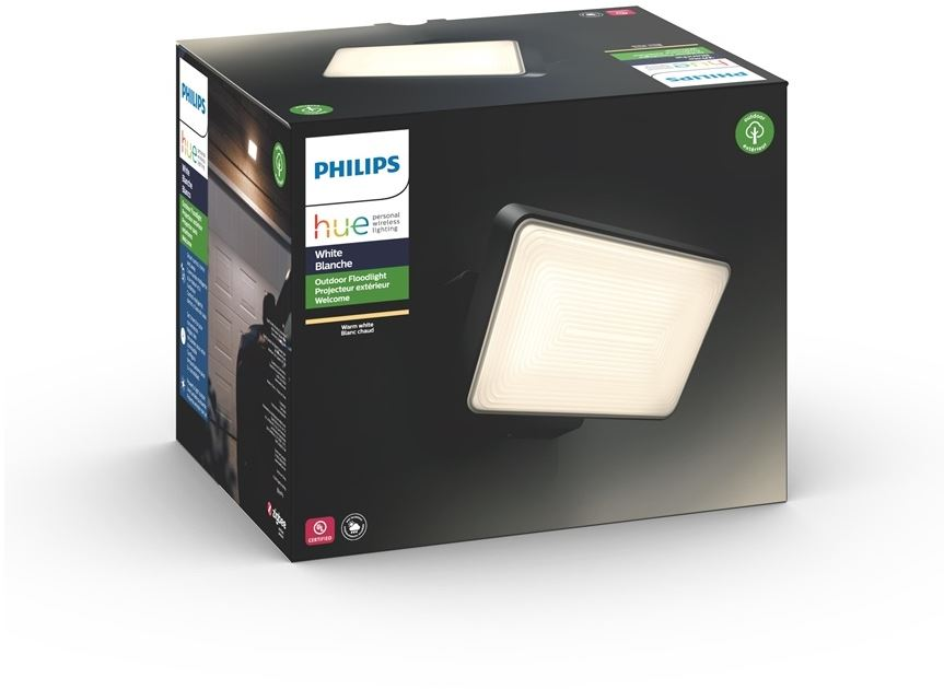 Philips 8718696170540 - Philips Hue Welcome - Reflector - LED - 15 W - clase A - luz blanca cálida - 2700 K - negro