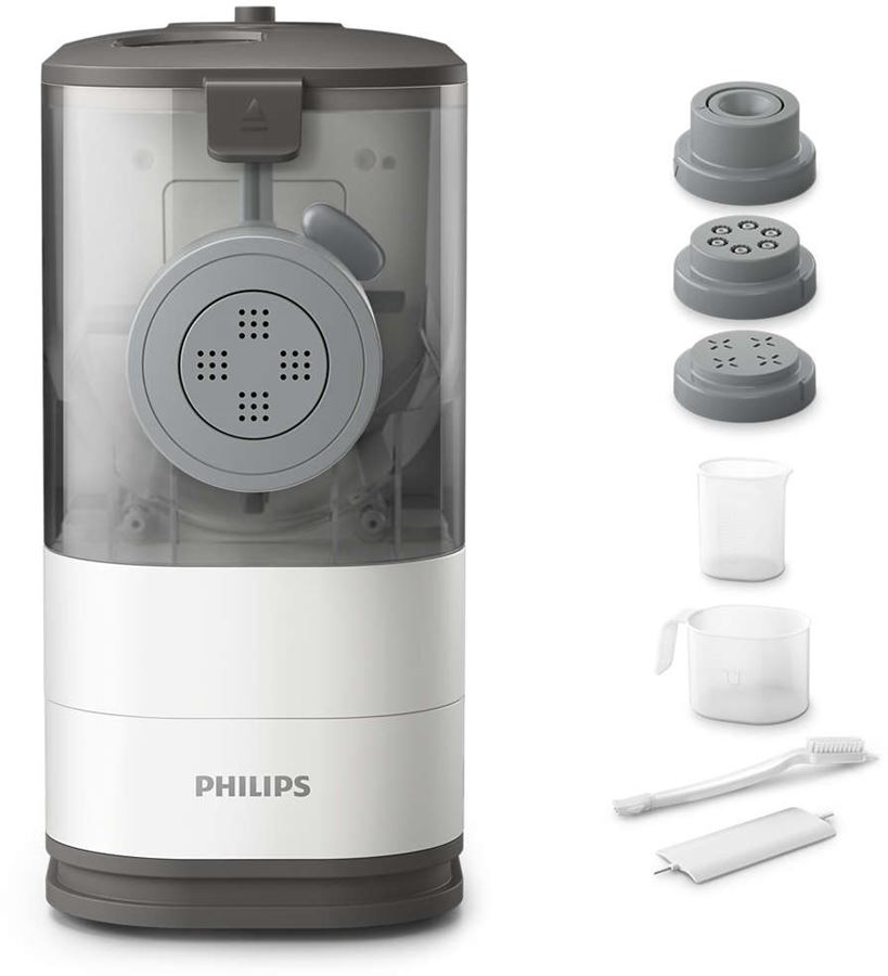 Philips HR2333/12 - Philips Viva Collection HR2333 - Máquina para hacer pasta - 150 W - blanco/ocaso
