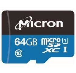 Micron MTSD064AHC6MS-1WT - Micro SD card 64Gb 3DTLC