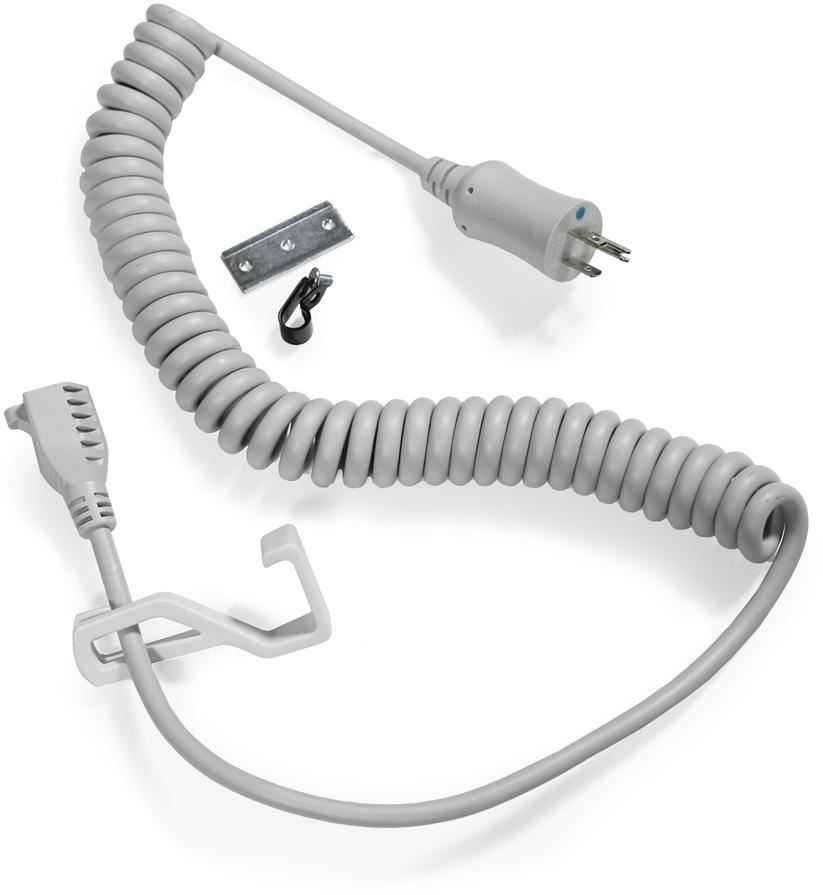 Ergotron 97-920 Coiled Extension Cord Accessory Kit (grey)