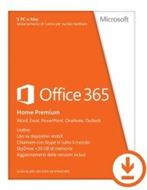 Microsoft 6GQ-00092 - Act Key/Office365 Home & Premium. Todos los Idiomas. 1 año.