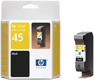 HP 51645AE - HP 45 Large - 42 ml - Grande - negro - original - cartucho de tinta - para Deskjet 12XX, 9300, 99X, Officejet g55, k60, K80, Officejet Pro 11XX, Photosmart p1115