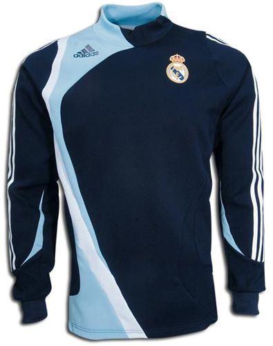 Camiseta Adidas Manga Larga De Entrenamiento Del Real Madrid Talla 192