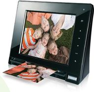 "Marco Digital con Escáner Skyla Memoir FS80 8"" Scanning Photo Frame - Digitaliza tus antiguas fotos"