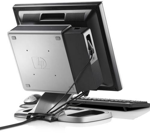 "PC ultracompacto HP dc7900 usdt + TFT 19"" HP L1908wi con Kit All-in-Two + Multifunción HP L7590"