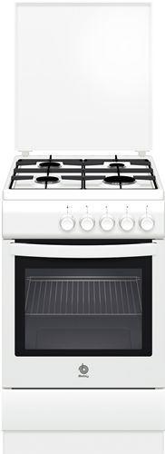 Cocina a gas balay 4fuegos horno gas natural ancho 50 cm blanco 3cgb340n - Cocina gas balay ...