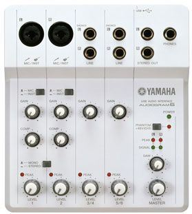 INTERFACE DE AUDIO YAMAHA AUDIOGRAM 6