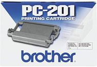 Cartucho y bobina PC201 Brother para Fax 1020e / 1030e