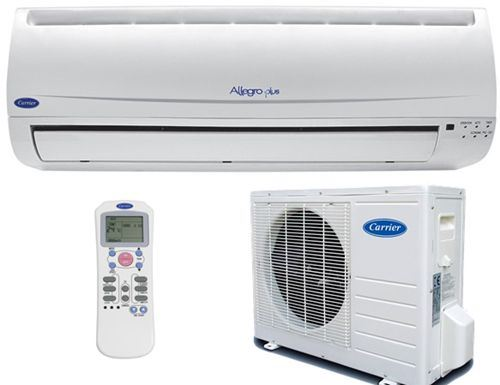 Carrier ALLEGRO PLUS ,split 1x1 con bomba de calor, 3014 Frigorias
