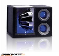 "Cajon + Subwoofer 12"" 900W con LED INNOVATE"