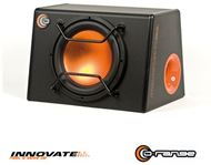 "Cajon + Subwoofer 12"" 1000W con protector frontal serie Orange. INNOVATE"