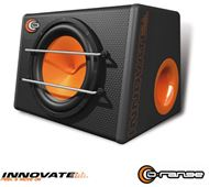 "Cajón + Subwoofer 10"" 1000W con protector frontal serie Orange. INNOVATE"