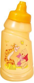 Cantimplora Antifugas Winnie The Pooh de Tigex. Con boquilla retráctil y capacidad de 350 ml.