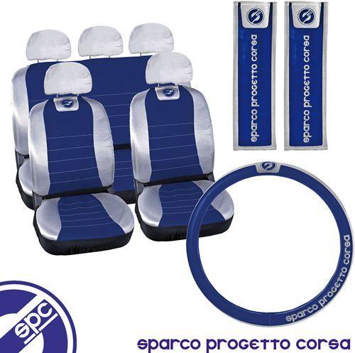 Pack 1 accesorios de interior para coche sparco spc azul - Accesorios coche interior ...