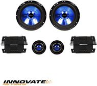 "KIT 6,5"" ALTAVOCES 300W 2 VÍAS/ TWETEER/ FILTROS . INNOVATE"