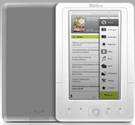"Libro Multimedia e-book Player 5 M 5"" con reprodución de videos"