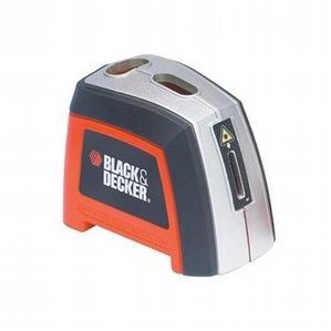 Black & Decker Nivel láser manual con 3m de longitud