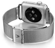 Riduria RAWMMS42 - Watch Straps Stainless steel SILVER made for Apple Watch 42 mm (7350083361325)
