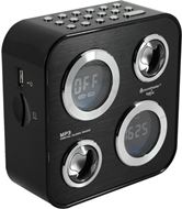 Radio Reloj de Diseño Soundmaster con USB/ SD Card / Radio AM-FM