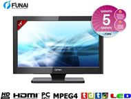"TELEVISOR LED 19"" FUNAI H800M. HD Ready con TDT HD"