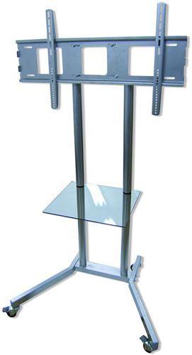 Soporte de suelo con ruedas para monitores plusscreen spte - Soporte suelo tv ...