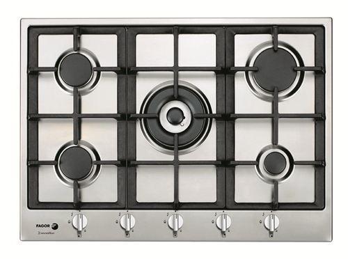 Placa de cocina gas natural tradicional de fagor 3fi - Placas de gas natural ...