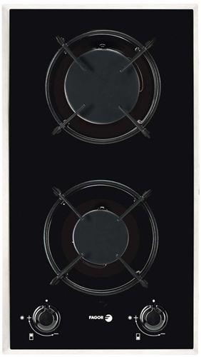 Placa de cocina modular gas natural de fagor 2mcf 2gsax nat con 2 zonas - Placa cocina gas natural ...