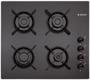 Placa de cocina gas butano aspes crystal gas independiente - Placas de cocina a gas butano ...