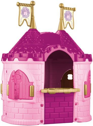 Feber disney princess castle casita en forma de castillo de princesas disney compuesto por dos - Casitas de princesas ...