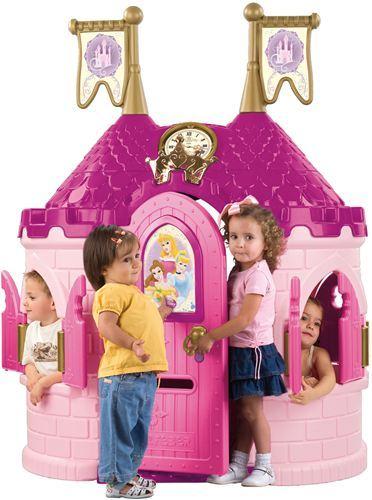 Feber disney princess castle casita en forma de castillo - Casitas de princesas ...
