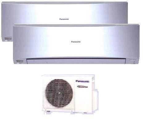 Aire acondicionado multi split panasonic inverter 2x1 kit for Aire acondicionado 2x1