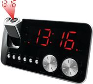 Radio despertador AM/FM Soundmaster con Reloj con Proyeccion