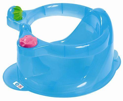 Adaptador Baño Ninos:Asiento Adaptador para el de Baño con Juguetes de Tigex, color azul