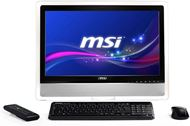 "Ordenador Sobremesa AIO MSI Wind Top AE2410 Serie Entertainment, LCD Multi Táctil 23.6"" 1920x1080, 16:9, Pentium® B950 2.1GHz, 4GB DDR3, 500GB SATA2, NVIDIA GeForce™ GT 540M, HDMI, VGA, WiFi, Negro"