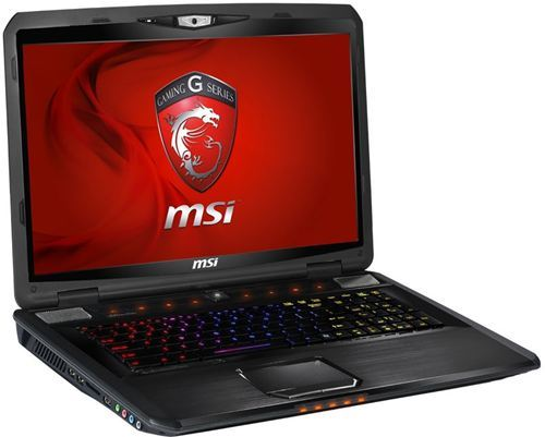 "Ordenador portátil MSI GT780DXR-262ES Serie Gaming Negro - Intel® Core™ i7 2670QM 2200 Mhz, LED 17.3"" 1920x1080 Full HD, NVIDIA® GeForce GTX 570M 3D, 8GB RAM, 1TB, HDMI, Webcam HD 720p, 9 celdas"
