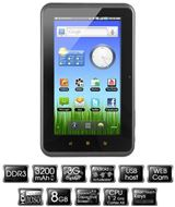 "TABLET PC DE 7"" CON ANDROID 2.3 WOXTER TABLET PC 75 CX"