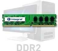 Modulo de memoria ValueRAM integral™ para PC - 1GB - 240 pines - DDR2 - DIMM - 800MHz / PC2-6400 - 128 x 8 - Non ECC - 1.8 V - CL6 - Rank 1