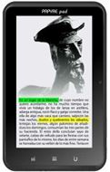 Tablet Papyre Pad 712, con pantalla a color y Android 2.3,ebook y tablet en un solo producto!