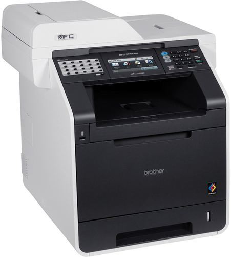 Impresora Brother MFC-9970CDW - Dúplex Multifunción Láser color con Fax, ADF, Escáner Plano, 28ppm negro/color, USB 2.0 ¡¡ CON RED INTEGRADA Y WIFI !!