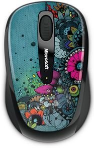 GMF-00095 - Ratón inalámbrico Microsoft Wireless Mobile Mouse 3500 Studio con tecnología BlueTrack - Artist Edition