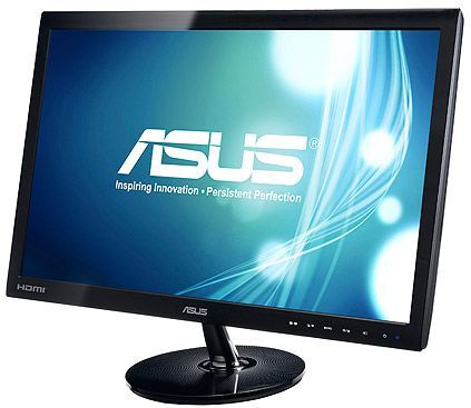 "Monitor LED 21.5"" Asus VS228H 1920 x 1080 - 16:9 - Full HD 1080p - 250 cd/m2 - 50.000.000:1 - 5 ms - HDMI - DVI-D - VGA - Negro ¡¡ 3 AÑOS DE GARANTÍA !!"