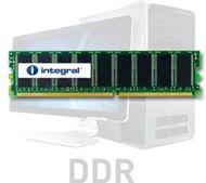 Modulo de memoria ValueRAM integral™ para PC - 1GB - 184 pines - DDR - DIMM - 400MHz / PC3200 - 64 x 8 - Non ECC - CL3 - Rank 2